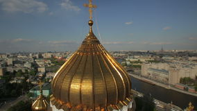 The Cathedral of Christ the Savior stock video