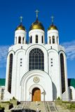 Cathedral of Christ the Savior. Kaliningrad (until 1946 Koenigsberg), Russia Stock Image