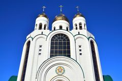 Cathedral of Christ the Savior. Kaliningrad (until 1946 Koenigsberg), Russia Stock Photography