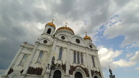 Cathedral of Christ the Savior stock video footage
