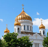 The Cathedral of Christ the Savior, Moscow Royalty Free Stock Images