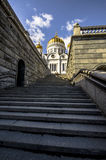 Cathedral of Christ the Savior Royalty Free Stock Photography