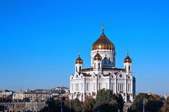Cathedral of Christ the Savior in Moscow Royalty Free Stock Photography