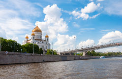 Cathedral of Christ  Savior. Moscow, Russia Stock Image