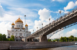 Cathedral of Christ  Savior. Moscow, Russia Stock Images