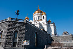 Cathedral of Christ  Savior in Moscow, Russia Royalty Free Stock Images