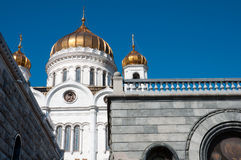 Cathedral of Christ  Savior in Moscow, Russia Royalty Free Stock Photography