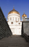 Cathedral of Christ the Savior in Moscow, Russia Stock Images