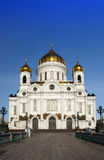 Cathedral of Christ the Savior in Moscow, Russia Stock Photography