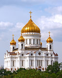 Cathedral of Christ the Savior in Moscow, Russia. Cathedral of Christ the Savior is the major church in Moscow and the tallest Orthodox Christian church in the Royalty Free Stock Photos