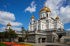 Cathedral of Christ the Savior, Moscow, Russia Royalty Free Stock Images