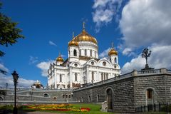 Cathedral of Christ the Savior, Moscow, Russia Stock Photo