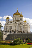 Cathedral of Christ the savior, Moscow, Russia. Stock Photo