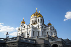 Cathedral of Christ the Savior in Moscow Royalty Free Stock Image