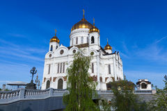 Cathedral of Christ The Savior, Moscow Royalty Free Stock Image