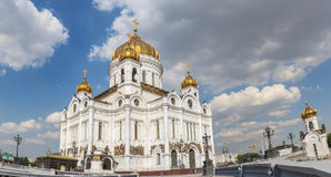 Cathedral of Christ the Savior in Moscow Royalty Free Stock Photos