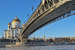 Cathedral of Christ the Savior Stock Image
