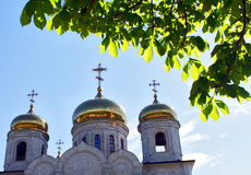 The Cathedral of Christ the Savior in Pyatigorsk. Stock Image