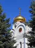 The Cathedral of Christ the Savior in Pyatigorsk. Royalty Free Stock Photography