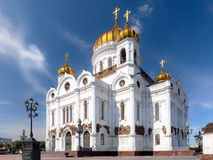 Cathedral of Christ the Savior Royalty Free Stock Images