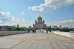 The Cathedral Of Christ The Savior. Stock Image
