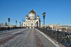 Cathedral Of Christ The Savior. Stock Images