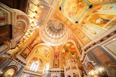 Cathedral of Christ the Saviour. Royalty Free Stock Images