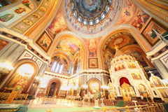 Cathedral of Christ the Saviour. Stock Images