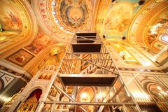 Cathedral of Christ the Saviour. Royalty Free Stock Photos
