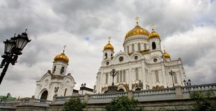 The Cathedral of Christ the Saviour Stock Image