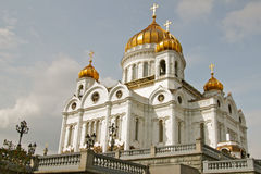 The Cathedral of Christ the Saviour Stock Images