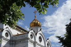 Cathedral. Of Christ the Saviour stock image