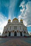 Cathedral of Christ the Saviour. Moscow, Russia stock photography