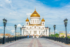 Cathedral of Christ the Saviour Stock Photo