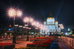 Cathedral of Christ the Saviour church. Royalty Free Stock Photography