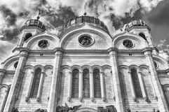 Cathedral of Christ the Saviour, iconic landmark in Moscow, Russ Royalty Free Stock Image