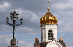 The Cathedral of Christ the Saviour in Moscow Royalty Free Stock Images