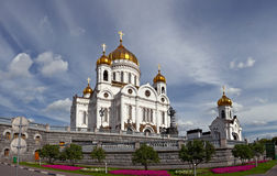 Cathedral of Christ the Saviour, Moscow Stock Photos