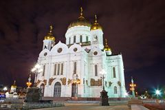 Cathedral Of Christ The Saviour In Moscow Stock Image
