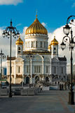 Cathedral of Christ the Saviour in Moscow Royalty Free Stock Images