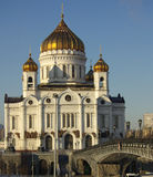 The Cathedral of Christ the Saviour, Moscow, Russia Stock Images