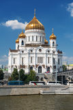 The Cathedral of Christ the Saviour in Moscow Stock Photography