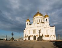 Cathedral of Christ the Saviour Stock Image