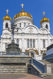 Cathedral of Christ the Saviour in Moscow Stock Photography