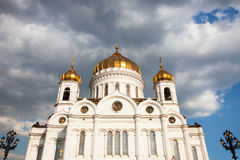 Cathedral of Christ the Saviour in Moscow Royalty Free Stock Image
