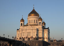 Cathedral of Christ the Saviour. Moscow. Russia Stock Image