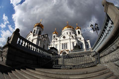 Cathedral of Christ Saviour, Moscow, Russia Royalty Free Stock Photography