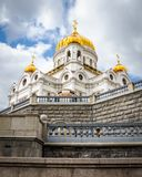 Cathedral of Christ the Saviour in Moscow royalty free stock photo