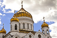 Cathedral of Christ the Saviour, Moscow, Russia Royalty Free Stock Photo