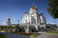 Cathedral of Christ the Saviour, Moscow, Russia Stock Photography